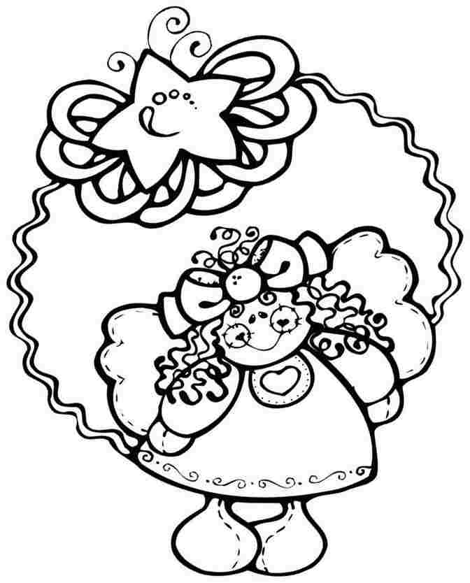 ornament coloring pages free - photo#33