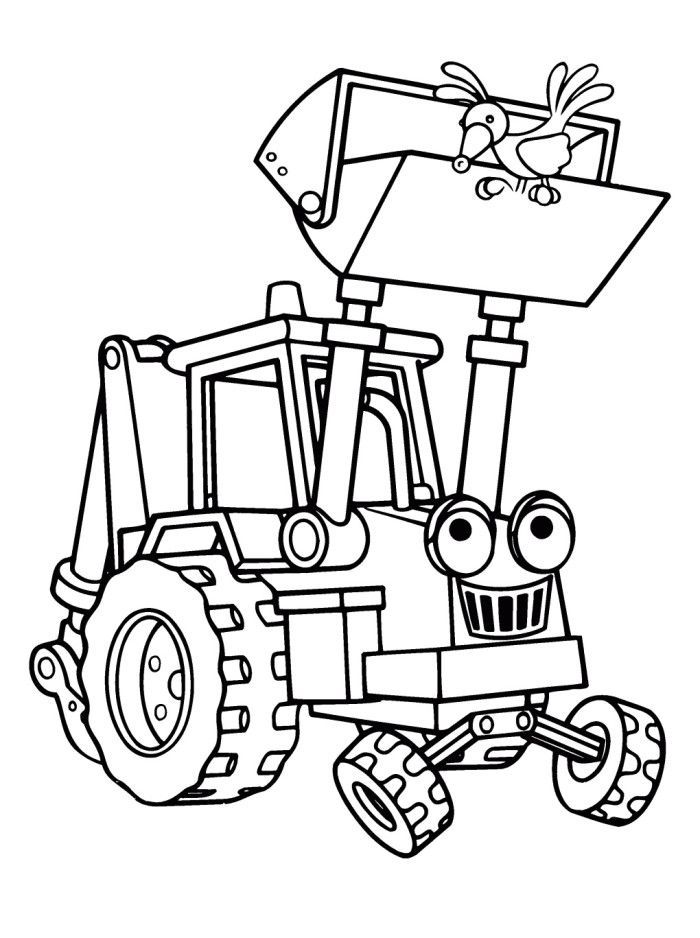 Bob The Builder Printables Coloring Home