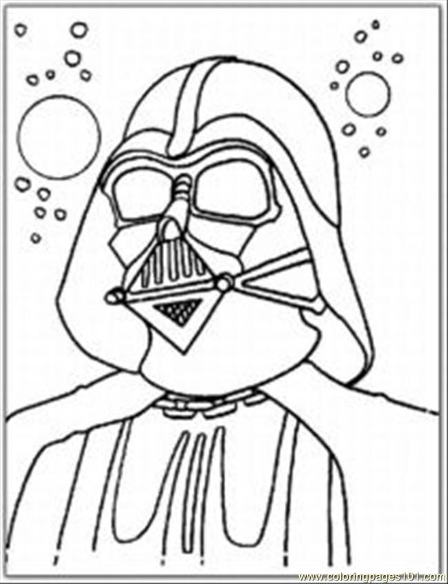 Coloring Pages Th Vader Coloring Pages Med (Cartoons > Star Wars