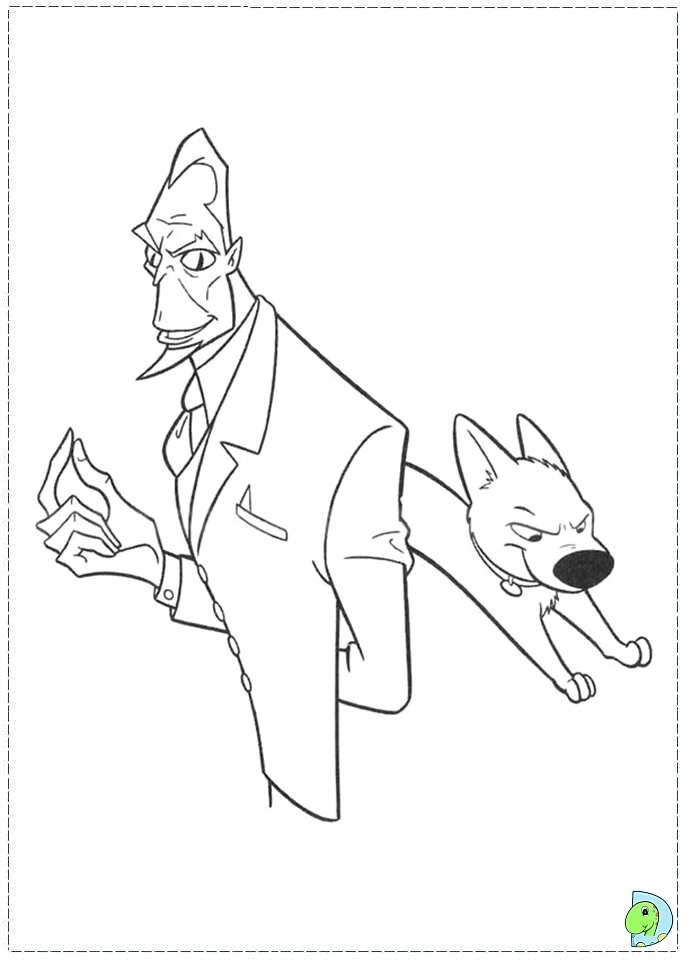 Bolt Coloring Pages Disney : Bolt coloring pages disney az