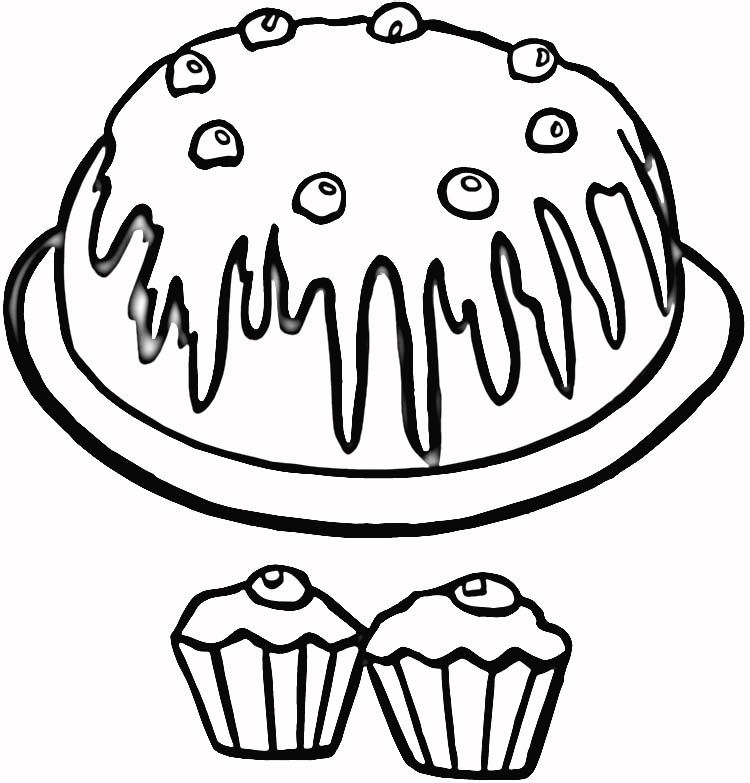Coloring Pages Of Cupcakes Az Coloring Pages