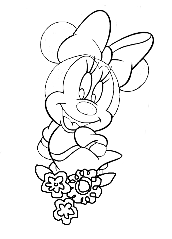 big flower coloring pages - large flower template az coloring pages