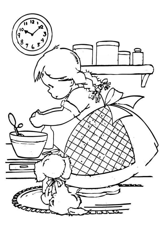 cooking coloring pages - photo#28