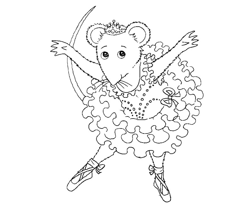 6 Angelina Ballerina Coloring Page Az Coloring Pages Ballerina Printable Coloring Pages