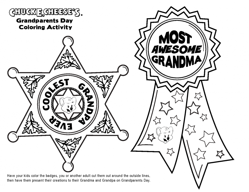 Coloring Pages For Grandparents Day Coloring Home