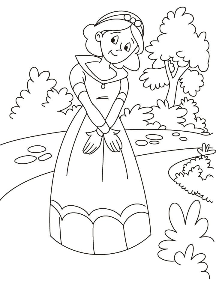 fantasy knights princesses coloring pages - photo#32