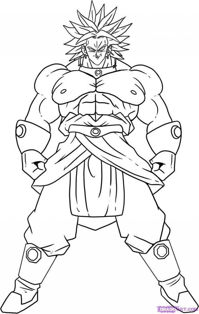 2014 Dragon Ball Z Coloring Pages 23744 Dragon Ball Gt Coloring Pages