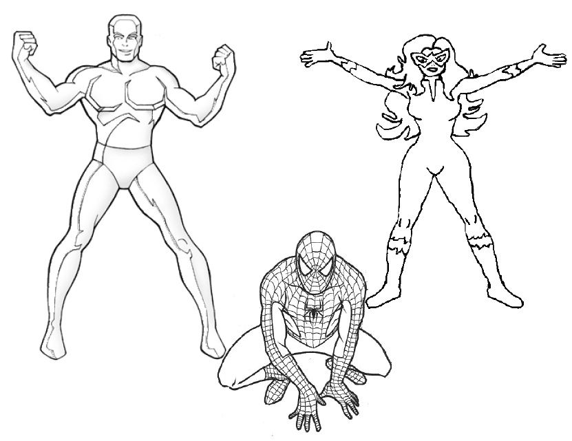 free iceman coloring pages - photo#10