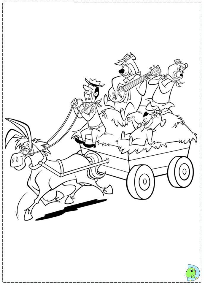 yogi coloring pages - photo#50