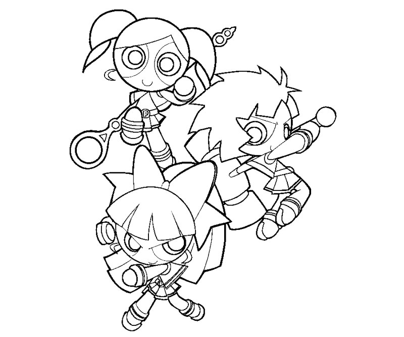 Powerpuff Girls Z Coloring Pages Az Coloring Pages Ppgz Coloring Pages