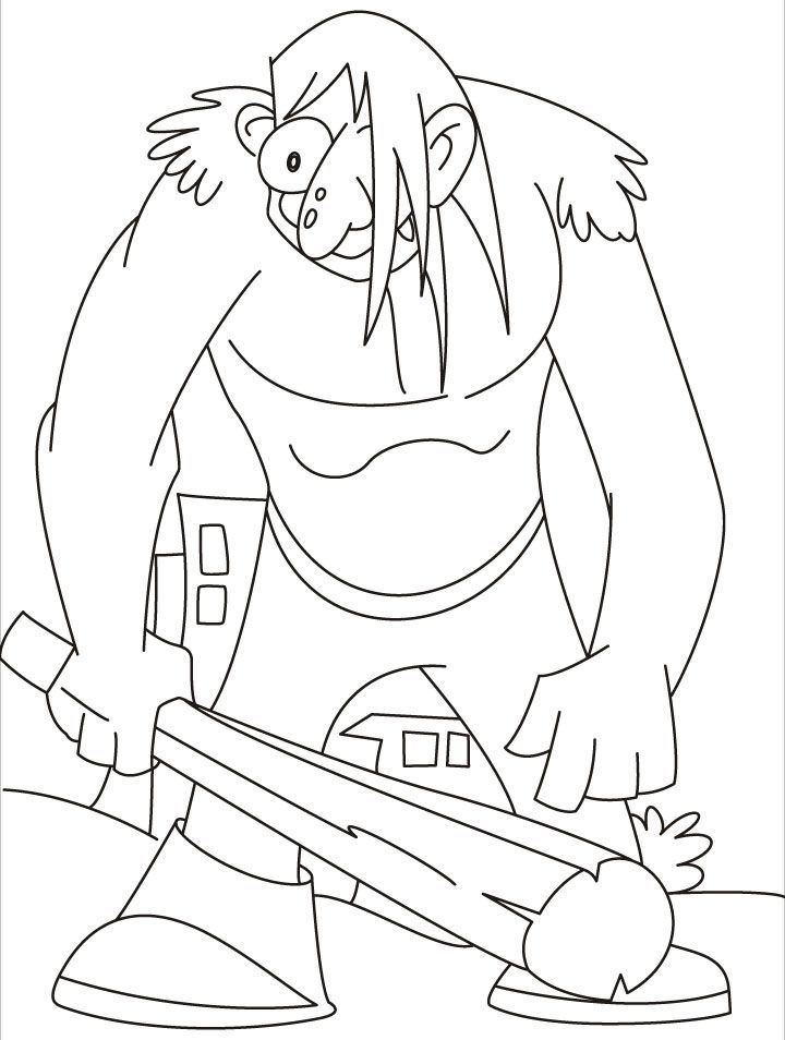 coloring pages iron giant boy - photo#25