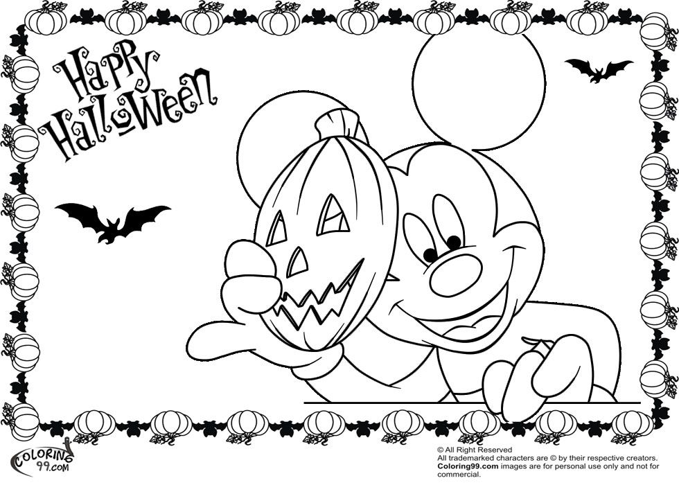 mickey mouse coloring pages free coloring pages for kidsfree