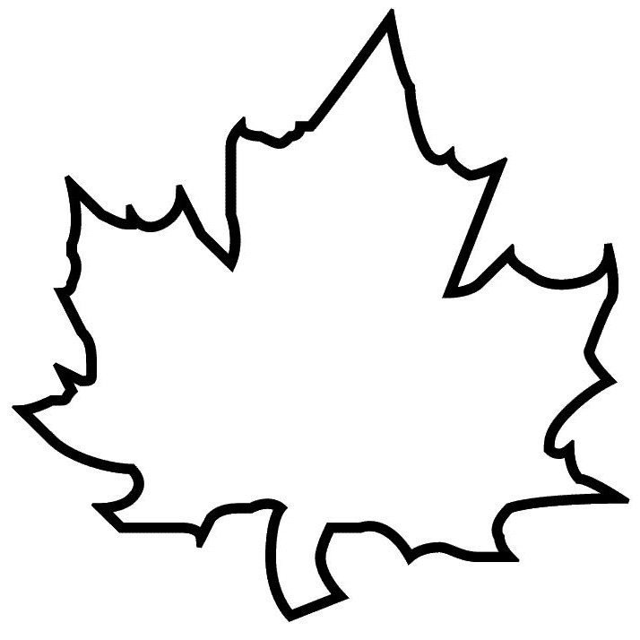 oak leaf coloring pages - photo #46