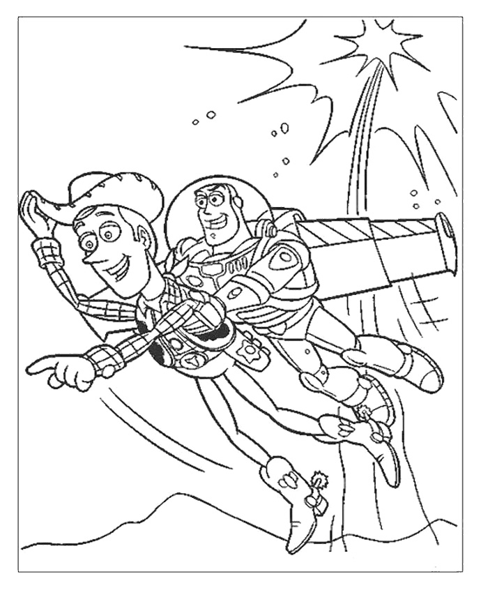 Woody And Buzz Coloring Pages Az Coloring Pages Woody And Buzz Coloring Pages