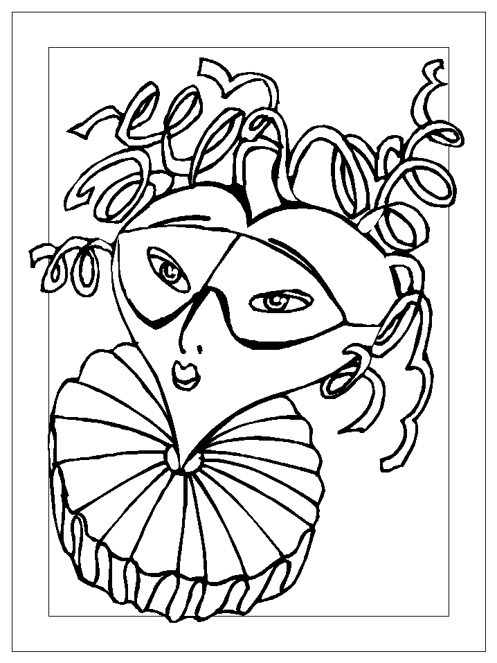 Mardi gras coloring pages for kids coloring home for Mardi gras coloring pages to print