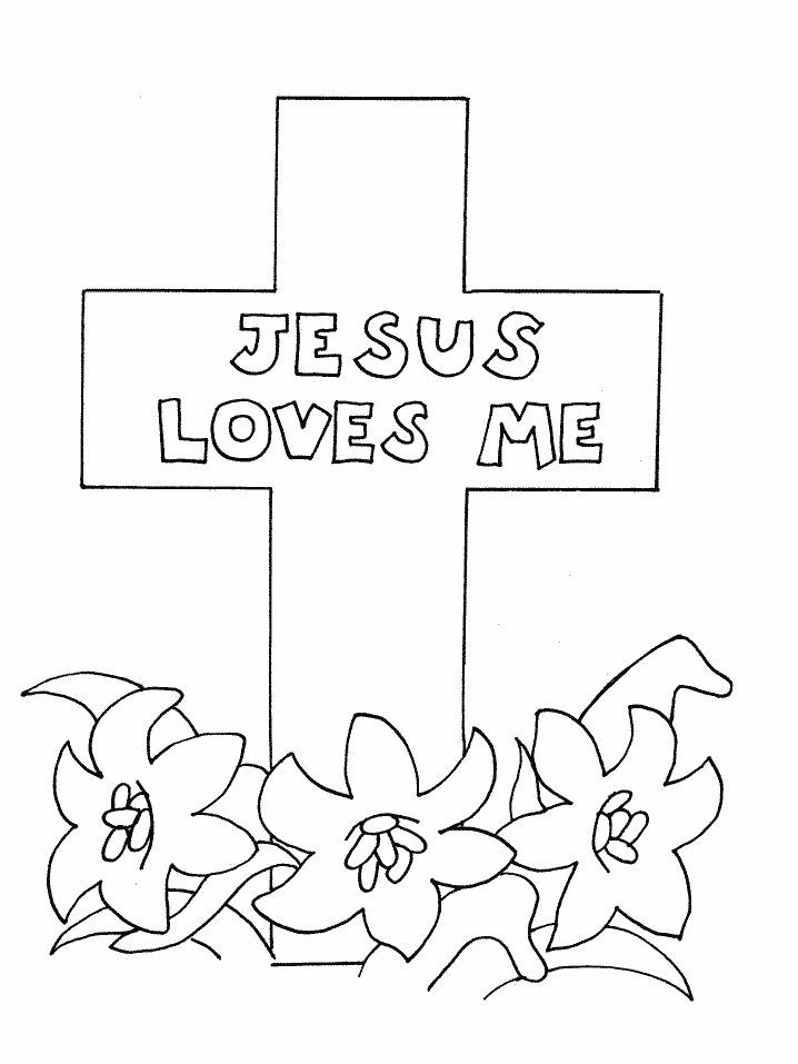 jesus bible story coloring pages - photo#22