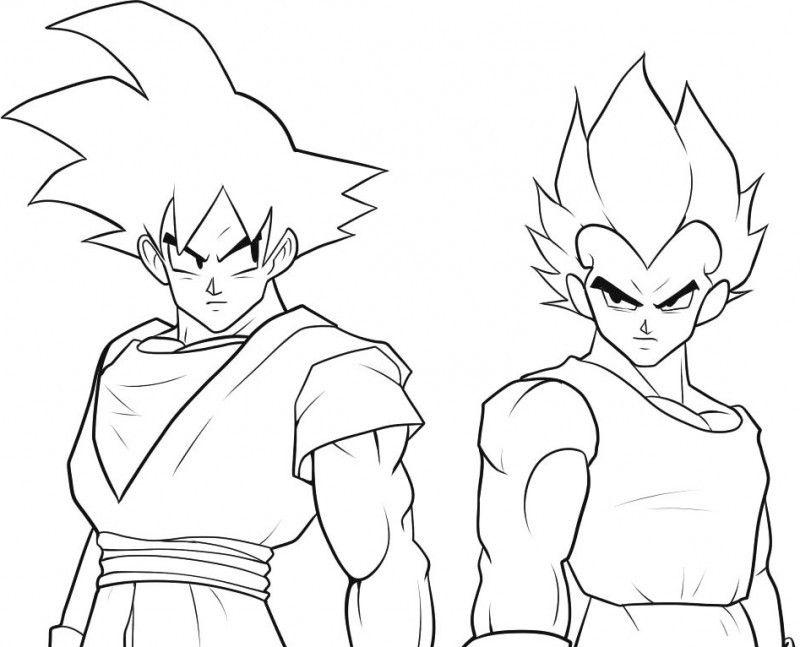 Gogeta Para Colorear: Goku Coloring Games