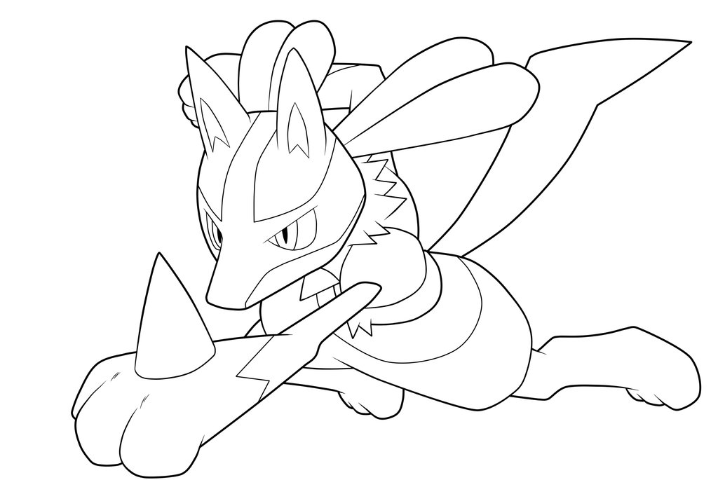 coloring pages absol - photo#17