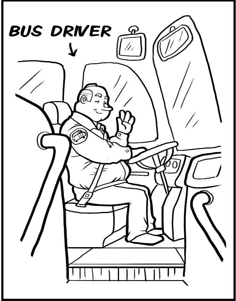 operator coloring pages - photo#5