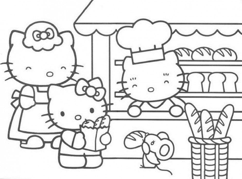 Free Online Cartoon Coloring Pages Coloring Home