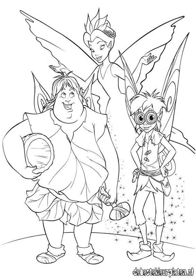 Tink And Terence Color Colouring Pages Page 3