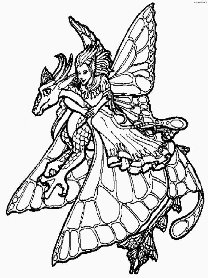 dragon gets by coloring pages - photo#18