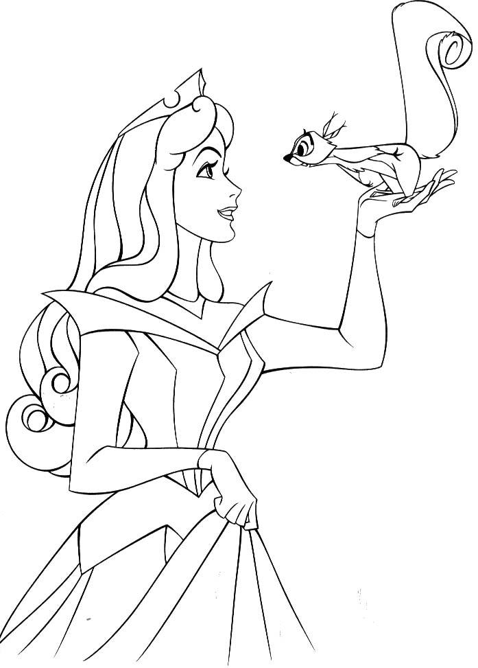 Princess aurora coloring pages az coloring pages for Princess aurora coloring pages free