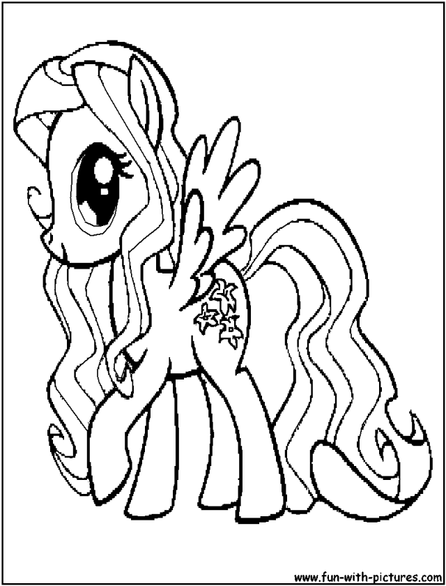 My Little Pony Characters Coloring Pages : My little pony characters coloring pages home