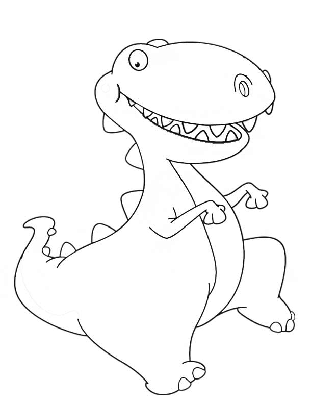 opinion album dinosaur coloring pages | Baby Dinosaur Coloring Pages - Coloring Home