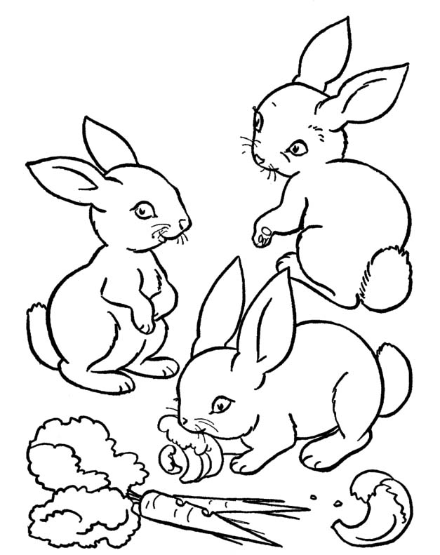 Carrot Coloring Page - AZ Coloring Pages