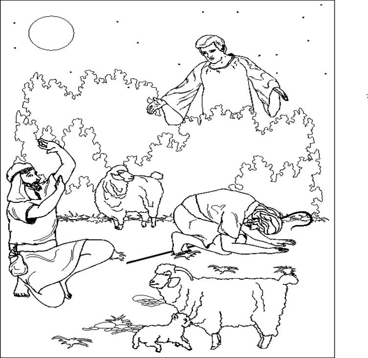 David The Shepherd Coloring Page - Coloring Home
