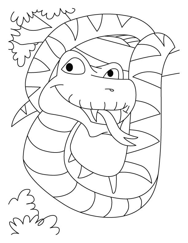 python coloring pages - photo#29