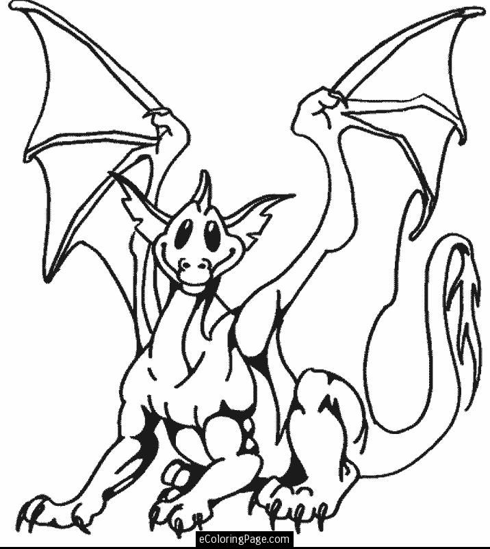 Free Fire Breathing Dragons Coloring Pages Breathing Coloring Page