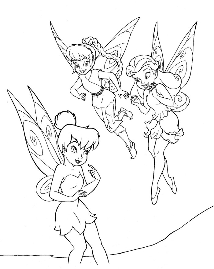 Tinker Bell And Friends Az Coloring Pages Tinkerbell And Friends Colouring Pages