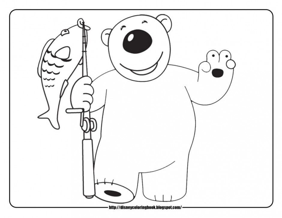 North pole coloring pages coloring home for Pororo coloring pages