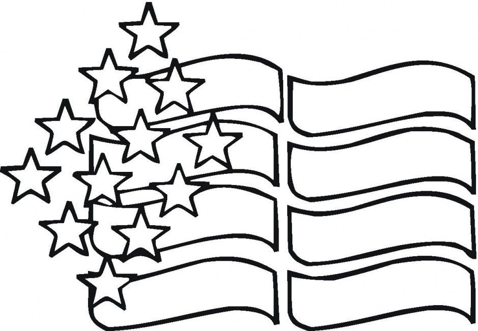 American Flag And Eagle Free Coloring Pages 232000 American Flag