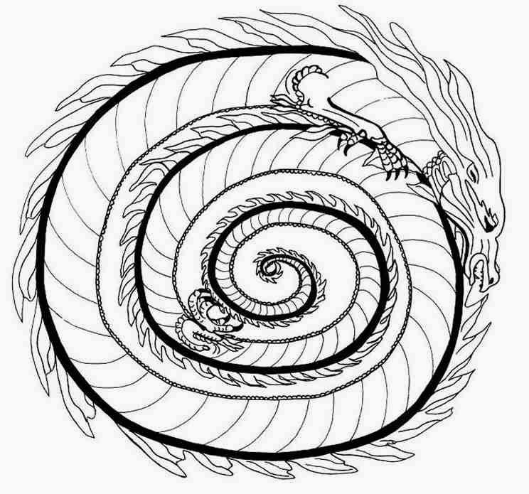 Celtic Coloring Pages   Adults #3