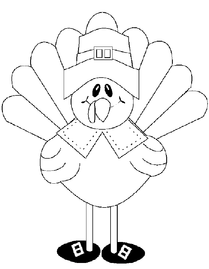 Thanksgiving Turkey Coloring Pages Printables - Picture 4