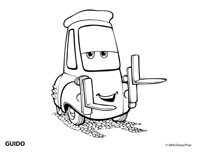 Lightning Mcqueen Printable Coloring Pages