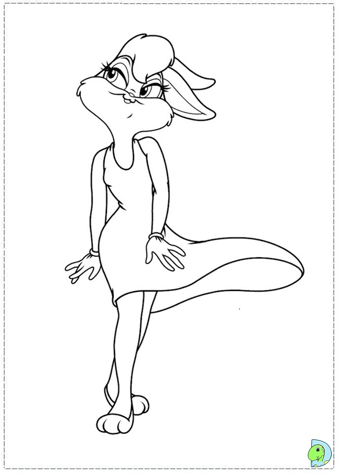 Lola Bunny Coloring Pages AZ