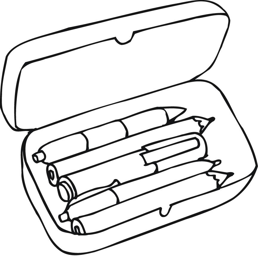 Pencil Coloring Page Coloring Home