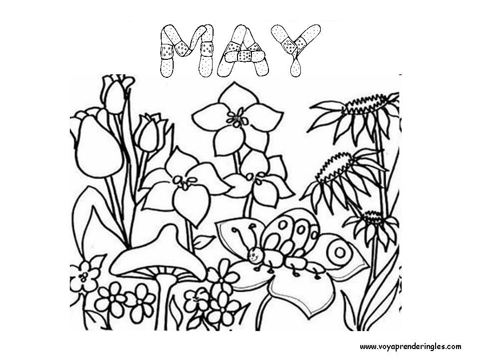 may coloring pages months of the year coloring pages az coloring