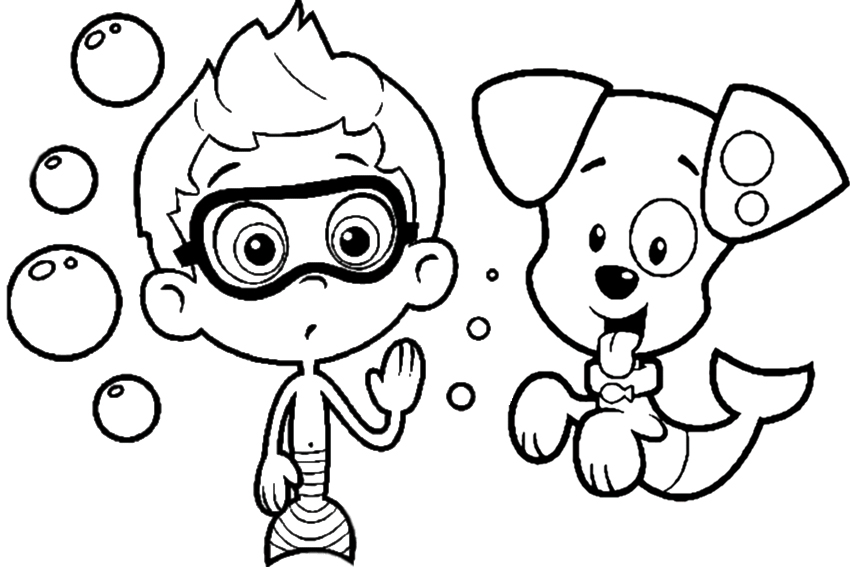 coloring pages nick jr - photo#7