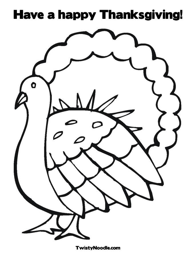 Thanksgiving Coloring Book Pages Turkey Car Pictures