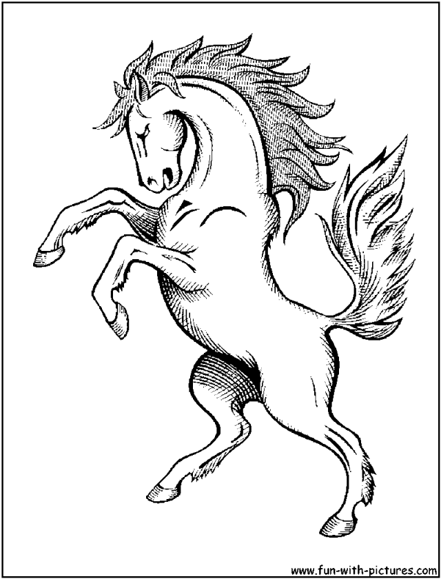 mustang horse coloring pages - mustang horse coloring pages az coloring pages