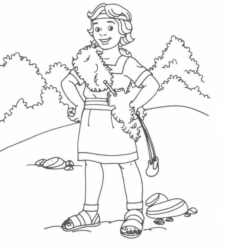 david the king coloring pages - photo#2
