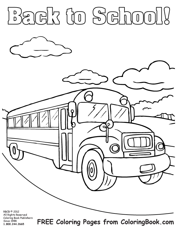 school safety coloring pages - photo#4