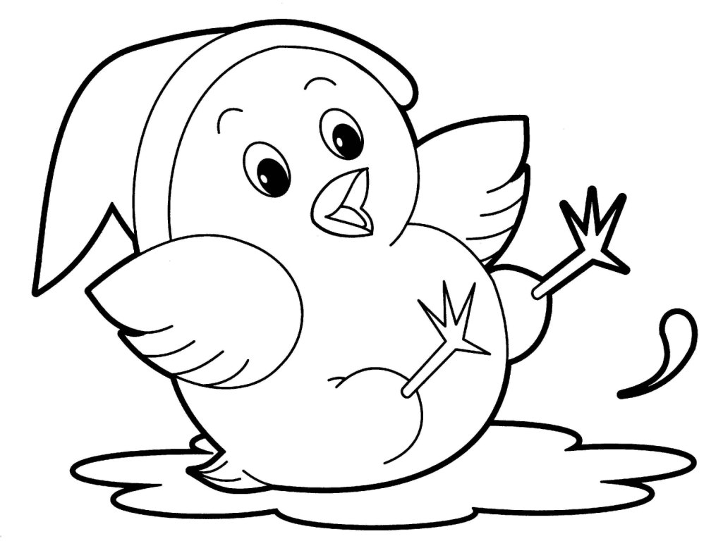 children coloring pages free animals - photo#26