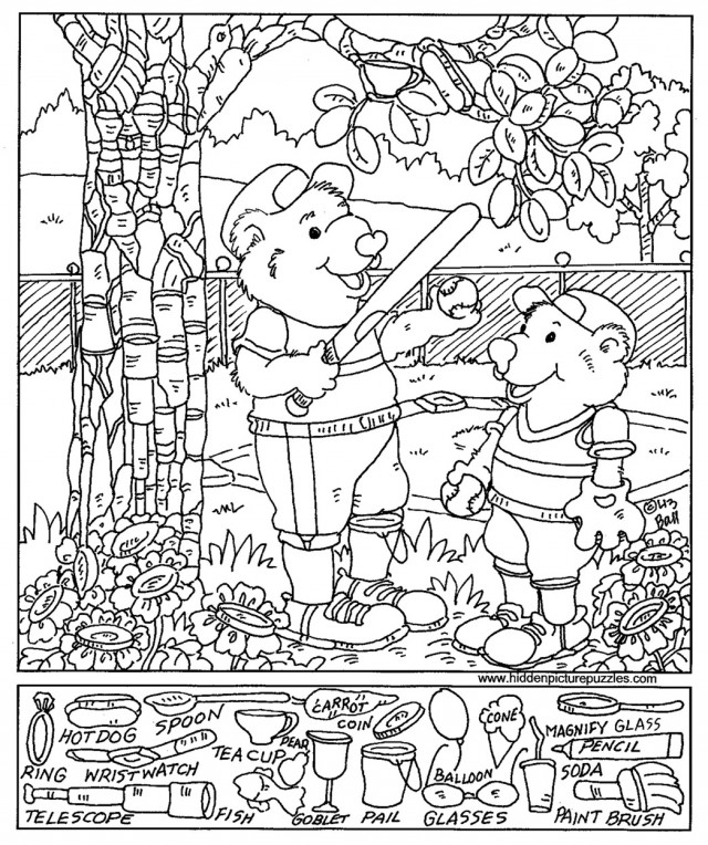 i spy printable coloring pages - photo #41