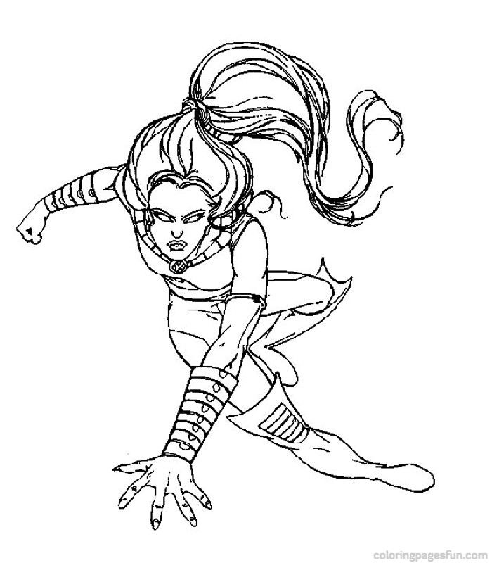 x men 2 coloring pages - photo #20